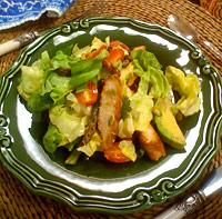 Butter Lettuce Spring Salad