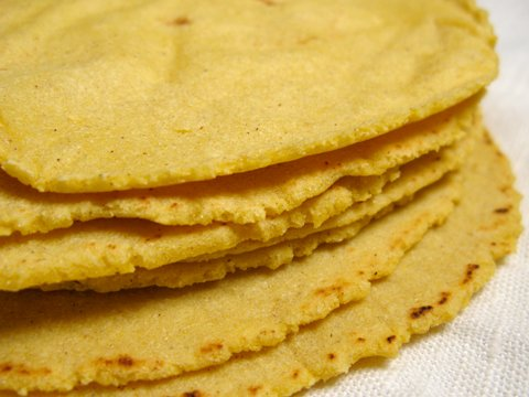 how to make corn tortillas without a press