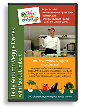 DVD - Tasty Autumn Veggie Dishes with Patrick Lambert