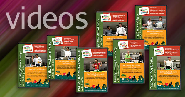 LOMB cooking classes on DVD